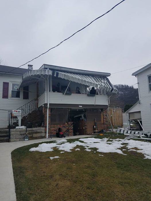 Nesquehoning Porch Remodel