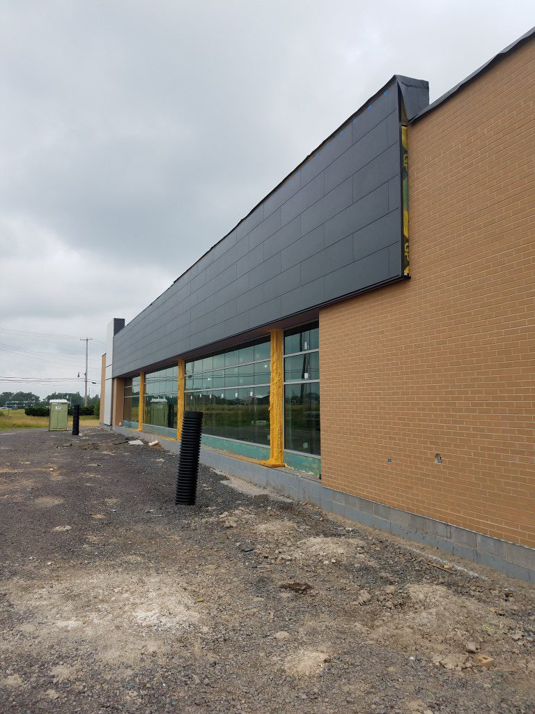 Hazleton Coordinated Health Commercial Siding Nichiha Fiber Cement
