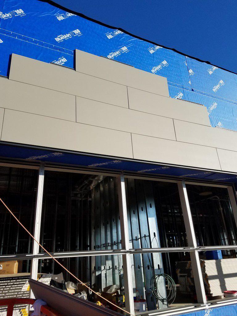 Phillipsburg Coordinated Health Commercial Siding Nichiha Fiber Cement