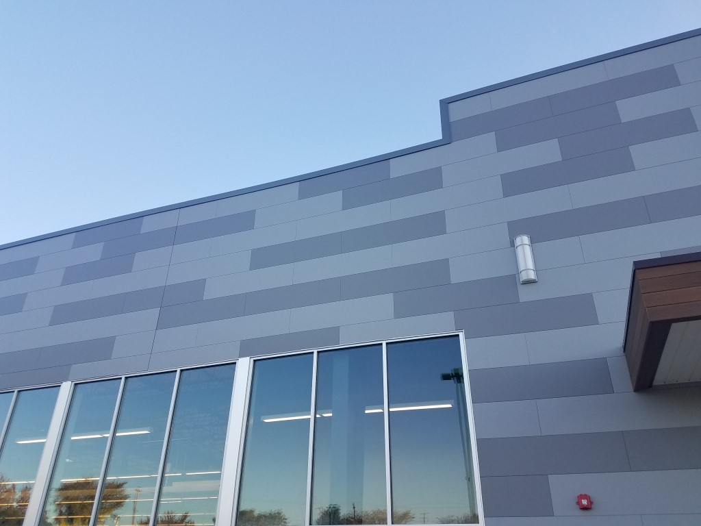 Westchester Giant Food Store Commercial Siding Nichiha Fiber Cement